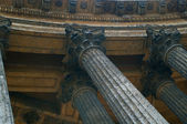 Columns of the Kazan cathedral — Stock Photo