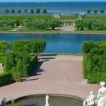 Fountains in Peterhof — Stock Photo #3621401