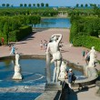 Fountain in Peterhof Palace — Stock Photo