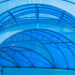 Stock Photo: Blue canopy
