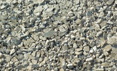 A close up of rocky gravel stones. — Stock Photo