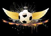 サッカー エンブレム — ストック写真