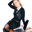 Charming young businesswoman — Stock Photo #2815110