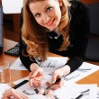 Charming young businesswoman — Stock Photo #2815520