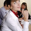 Charming business woman — Stock Photo #2822584