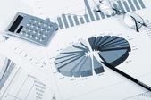 Grafici delle vendite — Foto Stock