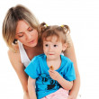 Mother and her young daughter — Stock Photo #3151344