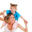 Mother and her young daughter — Stock Photo #3151351