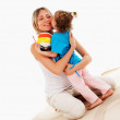 Mother and her young daughter — Stock Photo #3161696