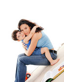Mother and her young daughter — Stock Photo