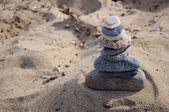 Pirâmide de pedra — Foto Stock