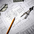Drawings of building — Stock Photo #3319165