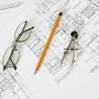 Royalty-Free Stock Photo: Drawings of building