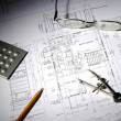 Drawings of building — Stock Photo #3366901