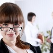 The young business woman — Stock Photo #3384541