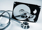 Computer hard drive — Stock Photo