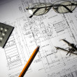 Drawings of building — Stock Photo #3442691