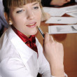 Stock Photo: Charming business woman