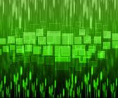 Fondo verde abstracto es de diferentes líneas — Foto de Stock