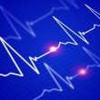 Image of the heart rate — Stock Photo #3505210