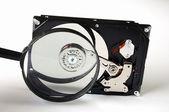 Computer hard disk — Stock Photo