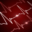 Image of heart rate — Stock Photo #3511962