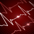 Image of the heart rate — Stock Photo #3511962