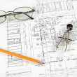 Drawings of building — Stock Photo #3603595