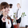 The young business woman — Stock Photo #3609352