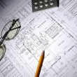 Drawings of building — Stock Photo #3662310