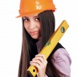 Charming young business woman — Stock Photo