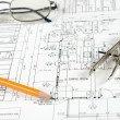 Drawings of building — Stock Photo #3668125