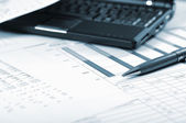 Charts, diagrams, tables. — Stock Photo