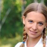Young beautiful girl — Stock Photo #3873523