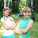 Two beautiful girls — Stock Photo #3873525