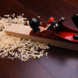 Shavings of wood — Stock Photo #3911245