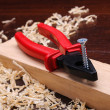 Shavings of wood — Stock Photo
