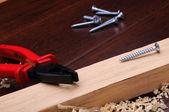 Späne aus Holz — Stockfoto