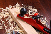 Shavings of wood — Stok fotoğraf