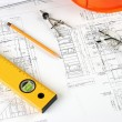 Drawings of building — Stock Photo #4027998