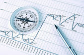 Graphs and charts. — Stock Photo