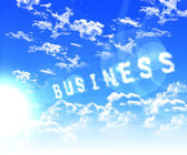 Caption associated with the business — Stock Photo