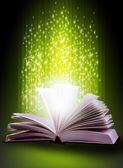 Livro mágico — Foto Stock
