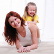 Young mother and daughter — Stock Photo #4123141