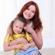 Young mother having fun — Stock Photo #4123168