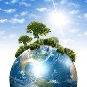 наши собственные земли — Стоковое фото