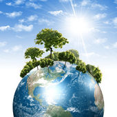 Vår egen jord — Stockfoto