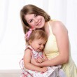 Mama and her little daughter — Stock Photo #4162201