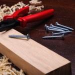 Shavings of wood — Stock Photo #4162339