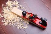 Shavings of wood — Stock Photo